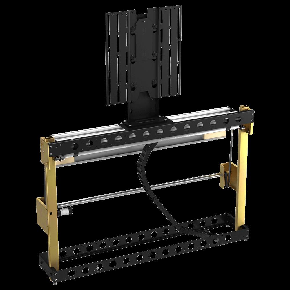 pl tv lift 32 60 drop roll flap future automation. Black Bedroom Furniture Sets. Home Design Ideas
