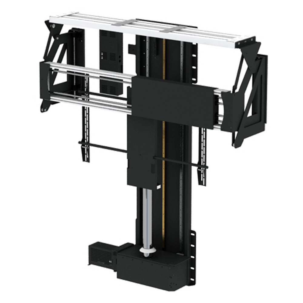 PLFS - In Floor TV Lift & Swivel