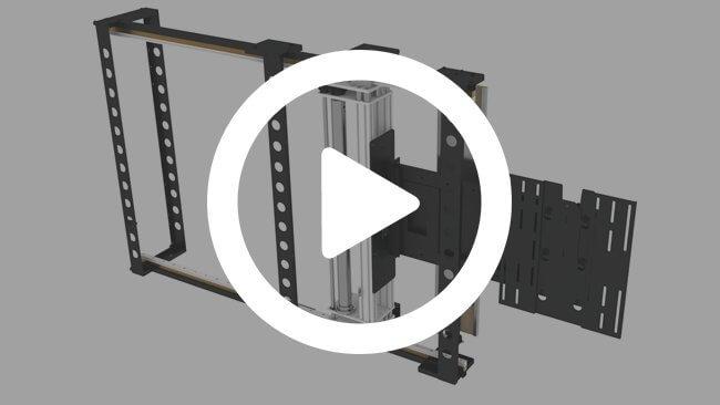 HL Horizontal TV Lift Product Video